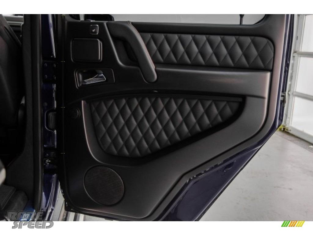 2018 G 63 AMG - designo Mystic Blue Metallic / designo Black photo #36