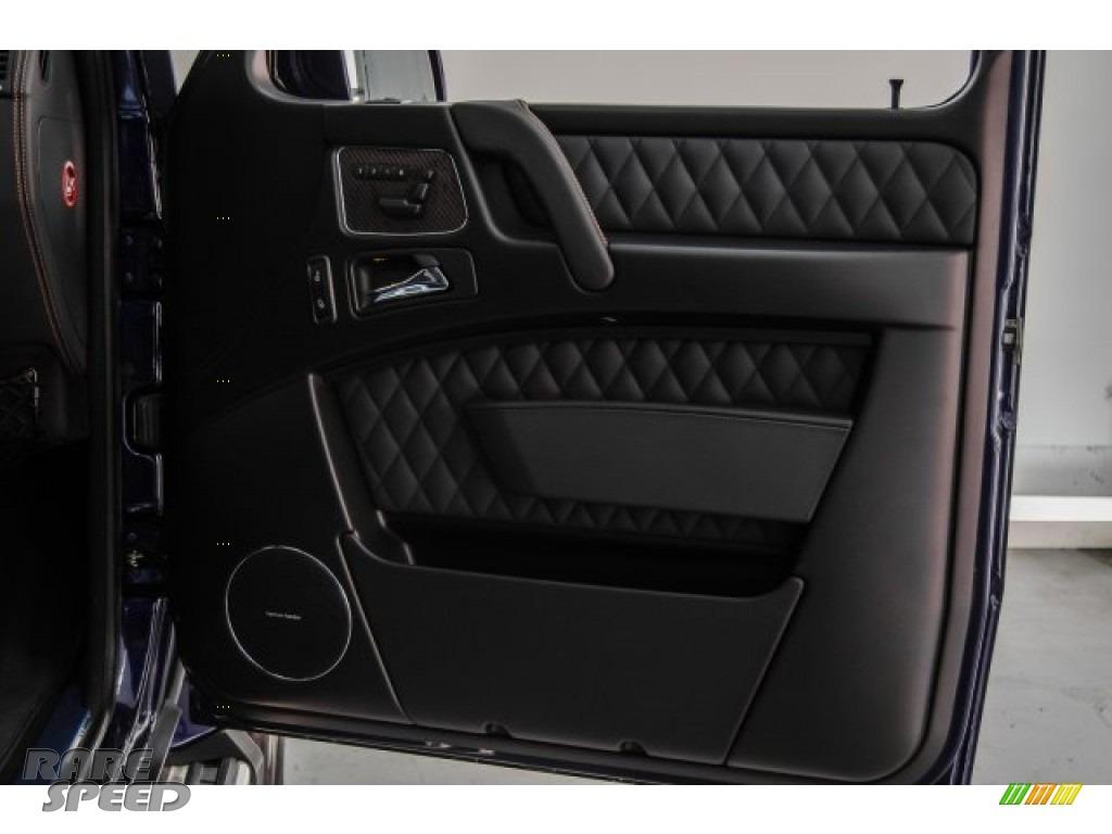 2018 G 63 AMG - designo Mystic Blue Metallic / designo Black photo #40