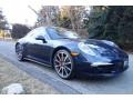 Porsche 911 Carrera 4S Coupe Dark Blue Metallic photo #8
