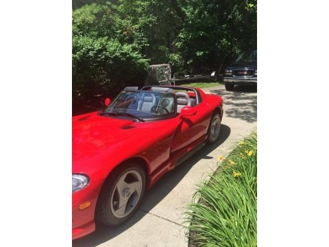Viper Red 1994 Dodge Viper RT-10