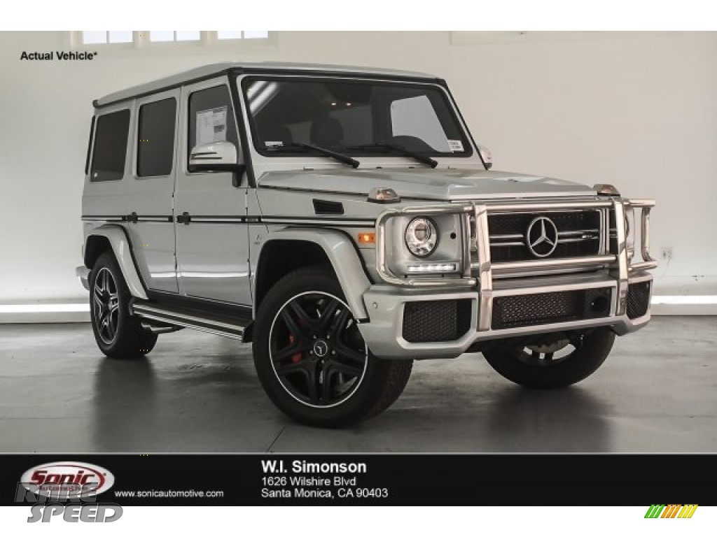 Iridium Silver Metallic / designo Black Mercedes-Benz G 63 AMG