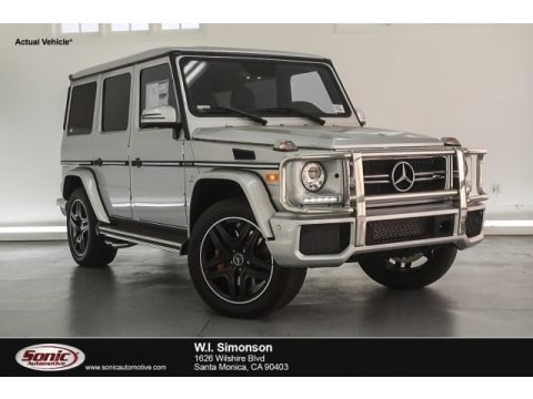 Iridium Silver Metallic 2018 Mercedes-Benz G 63 AMG