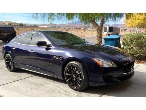 Blu Passione (Passion Blue) 2014 Maserati Quattroporte GTS