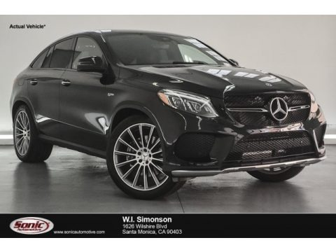 Black 2018 Mercedes-Benz GLE 43 AMG 4Matic Coupe