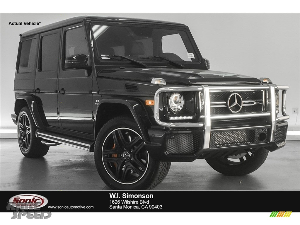 2018 G 63 AMG - Black / designo Black photo #1