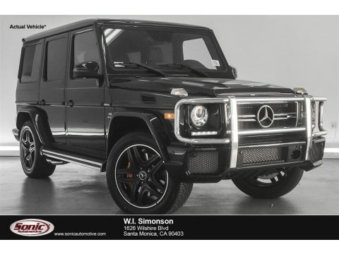 Black 2018 Mercedes-Benz G 63 AMG