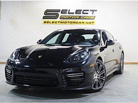 Black 2016 Porsche Panamera GTS