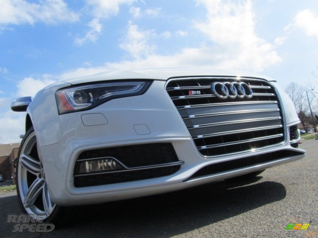 2013 S5 3.0 TFSI quattro Coupe - Ice Silver Metallic / Black/Lunar Silver photo #1