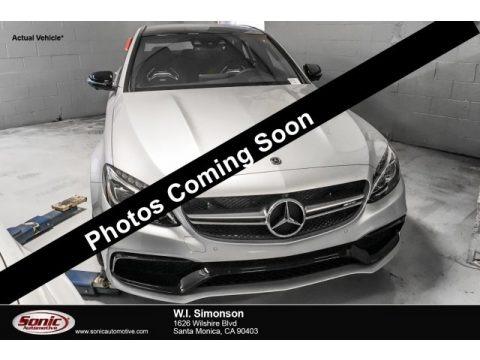 Iridium Silver Metallic 2018 Mercedes-Benz C 63 AMG Sedan