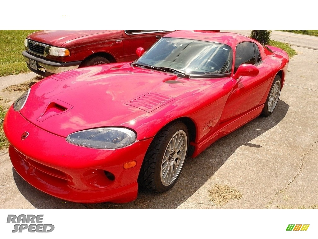 2000 Viper GTS - Viper Red / Black photo #1