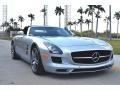 Mercedes-Benz SLS AMG Roadster Iridium Silver Metallic photo #1