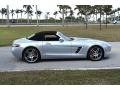 Mercedes-Benz SLS AMG Roadster Iridium Silver Metallic photo #2