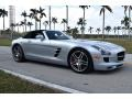 Mercedes-Benz SLS AMG Roadster Iridium Silver Metallic photo #10