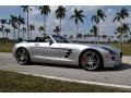 Mercedes-Benz SLS AMG Roadster Iridium Silver Metallic photo #11