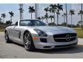 Mercedes-Benz SLS AMG Roadster Iridium Silver Metallic photo #12