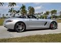 Mercedes-Benz SLS AMG Roadster Iridium Silver Metallic photo #14