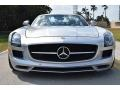 Mercedes-Benz SLS AMG Roadster Iridium Silver Metallic photo #23