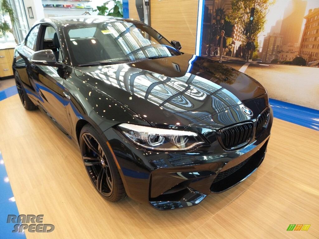 2018 M2 Coupe - Black Sapphire Metallic / Black photo #1