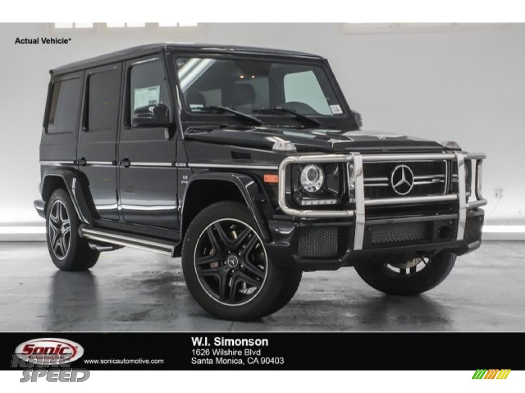 Obsidian Black Metallic / Black Mercedes-Benz G 63 AMG