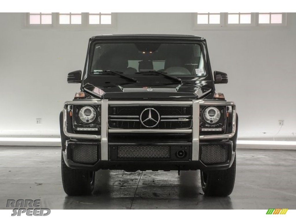 2018 G 63 AMG - Obsidian Black Metallic / Black photo #2