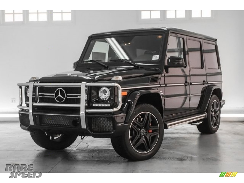 2018 G 63 AMG - Obsidian Black Metallic / Black photo #11