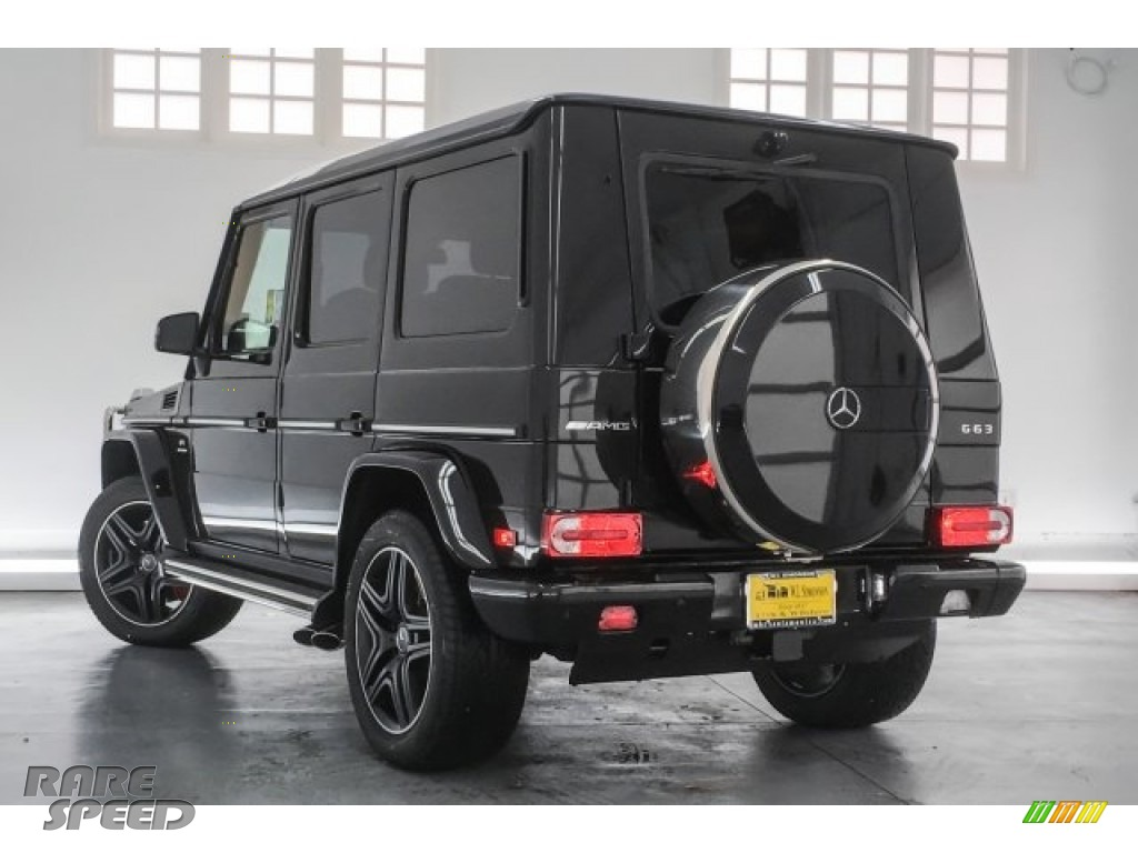 2018 G 63 AMG - Obsidian Black Metallic / Black photo #16