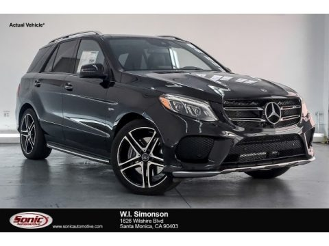 Obsidian Black Metallic 2018 Mercedes-Benz GLE 43 AMG 4Matic