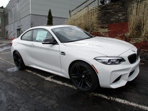 Alpine White 2018 BMW M2 Coupe