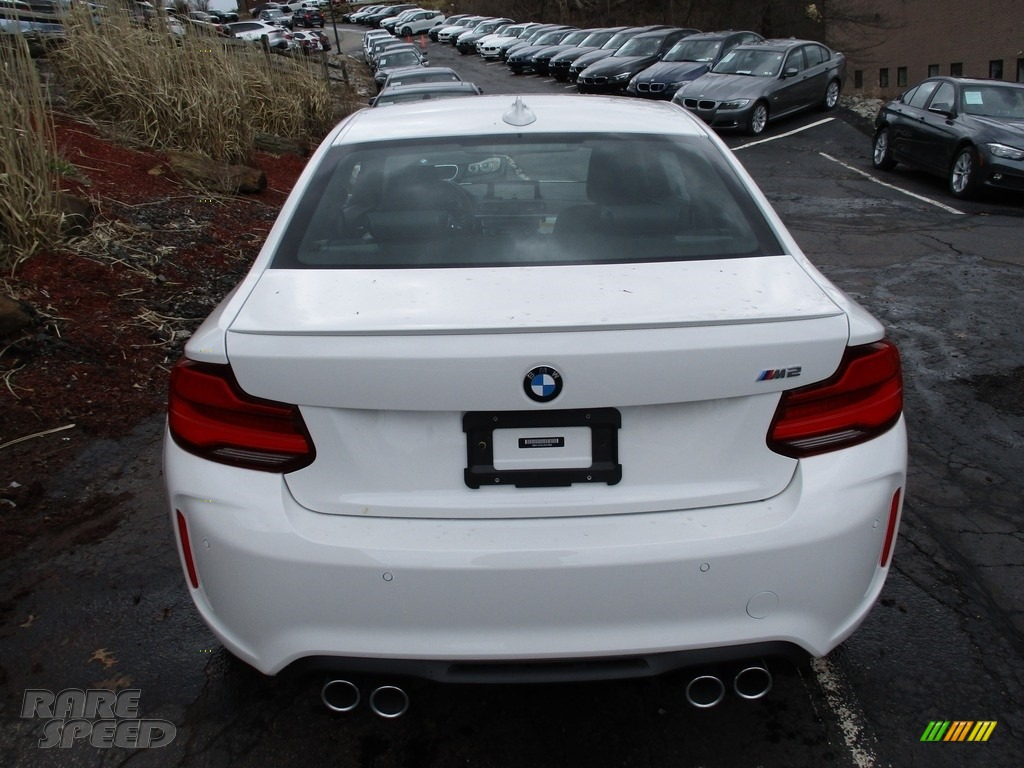 2018 M2 Coupe - Alpine White / Black photo #4