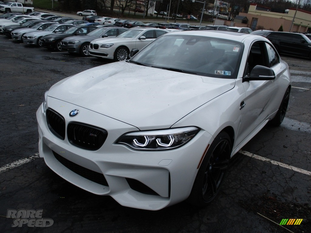 2018 M2 Coupe - Alpine White / Black photo #7