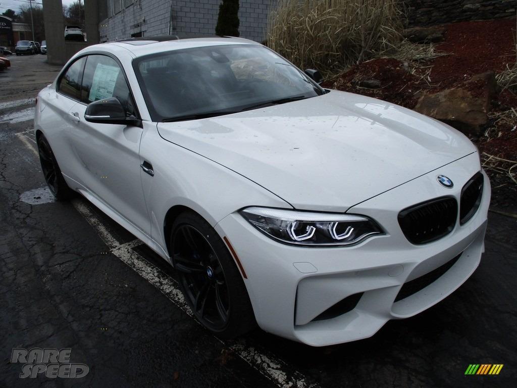 2018 M2 Coupe - Alpine White / Black photo #9