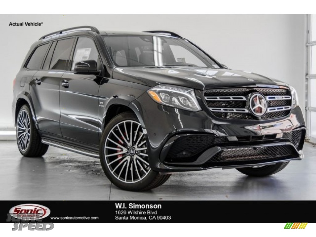 2018 GLS 63 AMG 4Matic - Black / Black photo #1