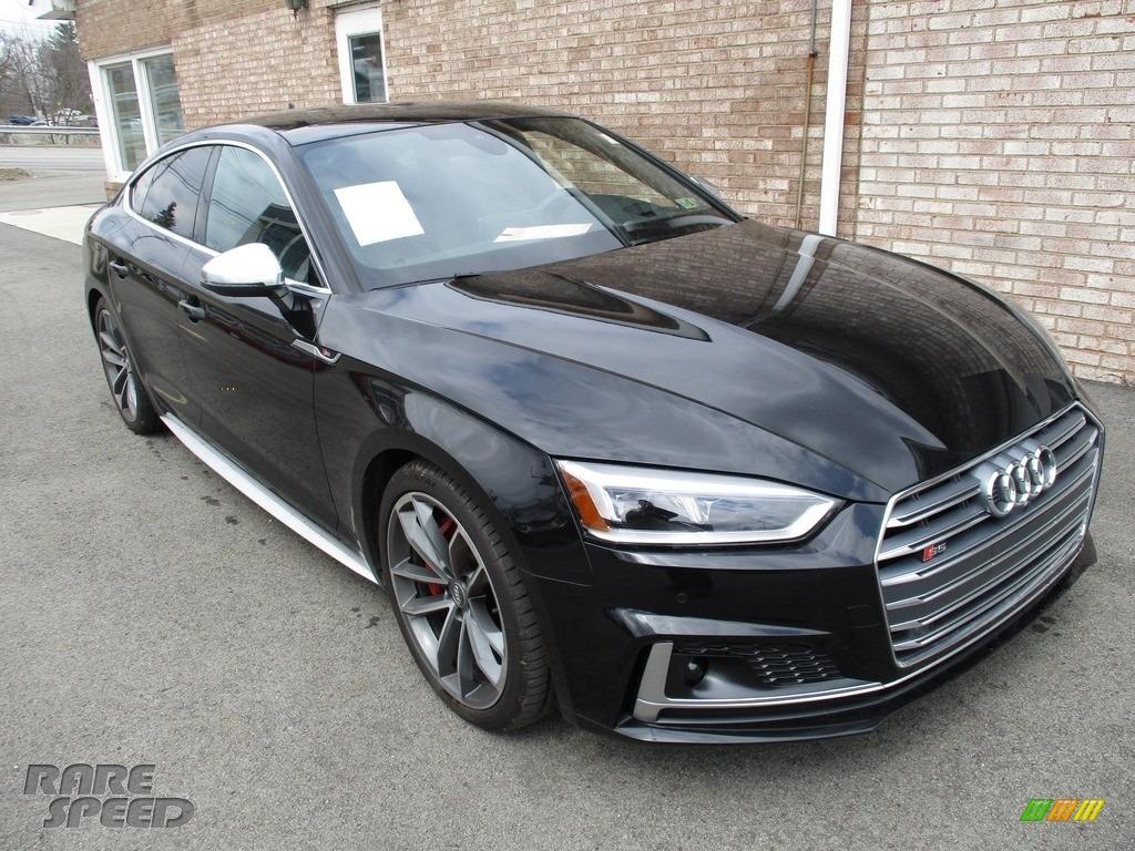 2018 S5 Prestige Coupe - Brilliant Black / Black photo #9