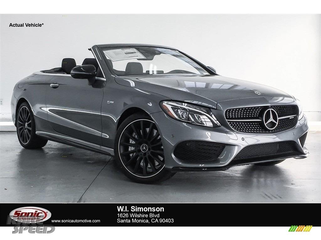 Selenite Grey Metallic / Black Mercedes-Benz C 43 AMG 4Matic Cabriolet