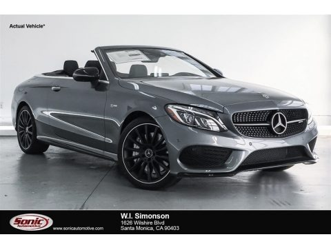 Selenite Grey Metallic 2018 Mercedes-Benz C 43 AMG 4Matic Cabriolet