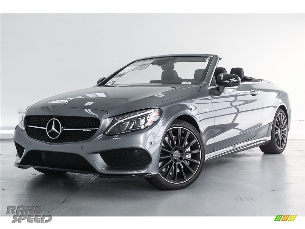 2018 C 43 AMG 4Matic Cabriolet - Selenite Grey Metallic / Black photo #13