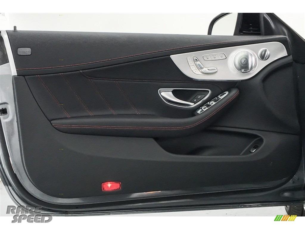 2018 C 43 AMG 4Matic Cabriolet - Selenite Grey Metallic / Black photo #24