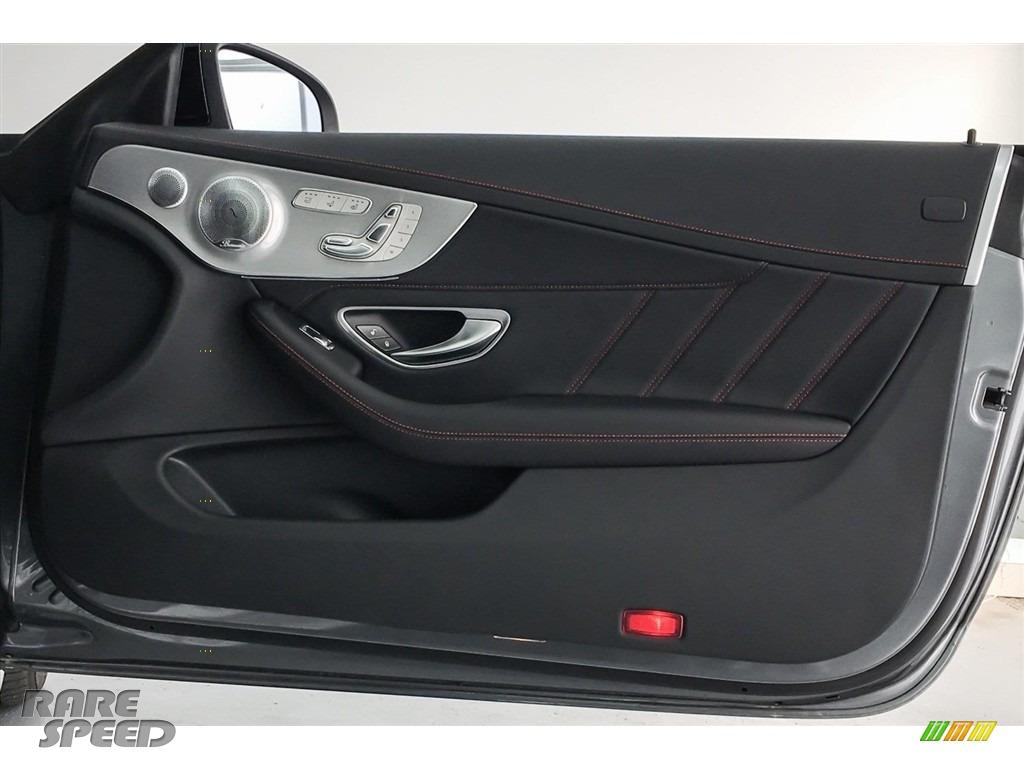 2018 C 43 AMG 4Matic Cabriolet - Selenite Grey Metallic / Black photo #30