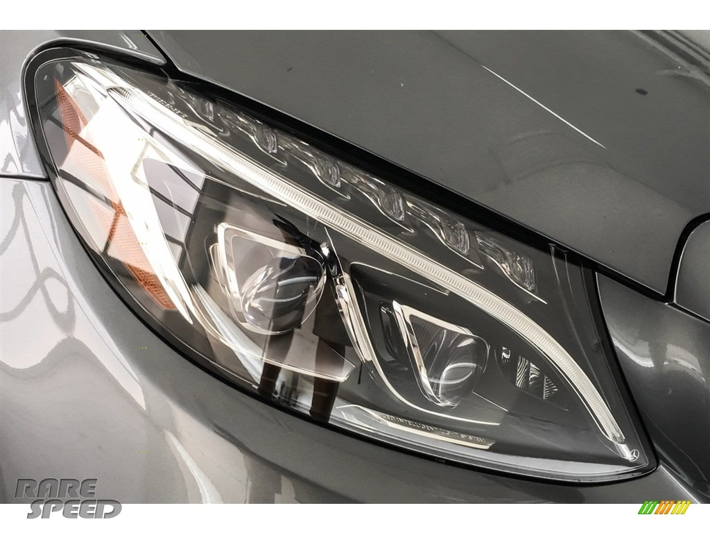 2018 C 43 AMG 4Matic Cabriolet - Selenite Grey Metallic / Black photo #32