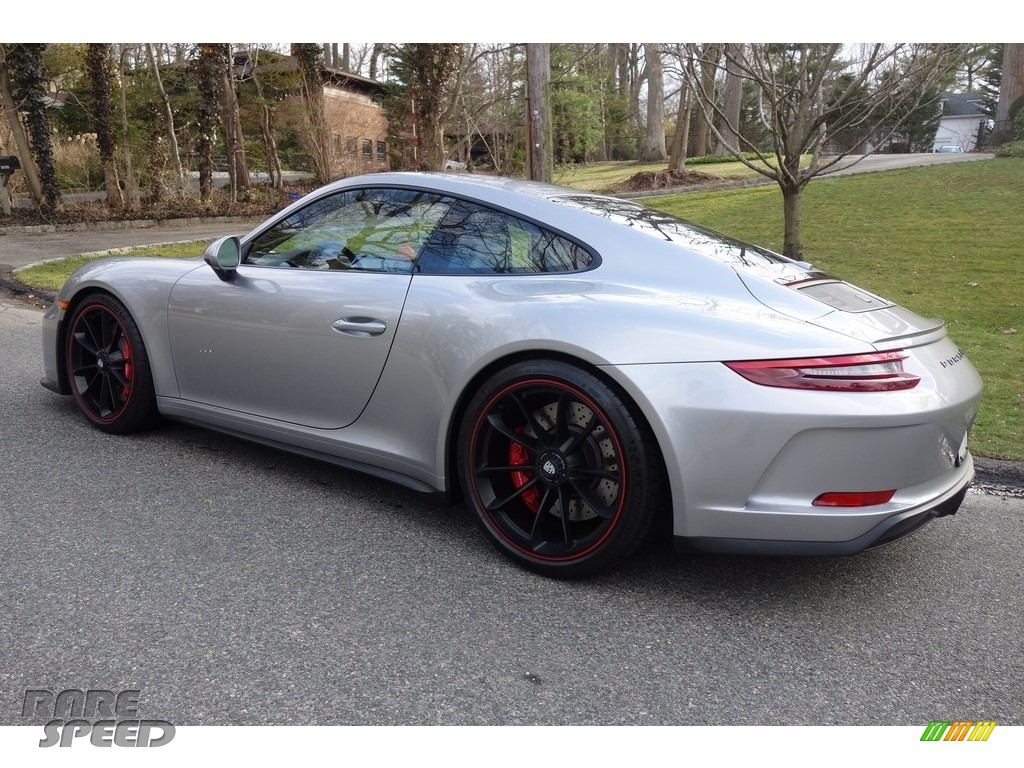 2018 911 GT3 - GT Silver Metallic / Black photo #4