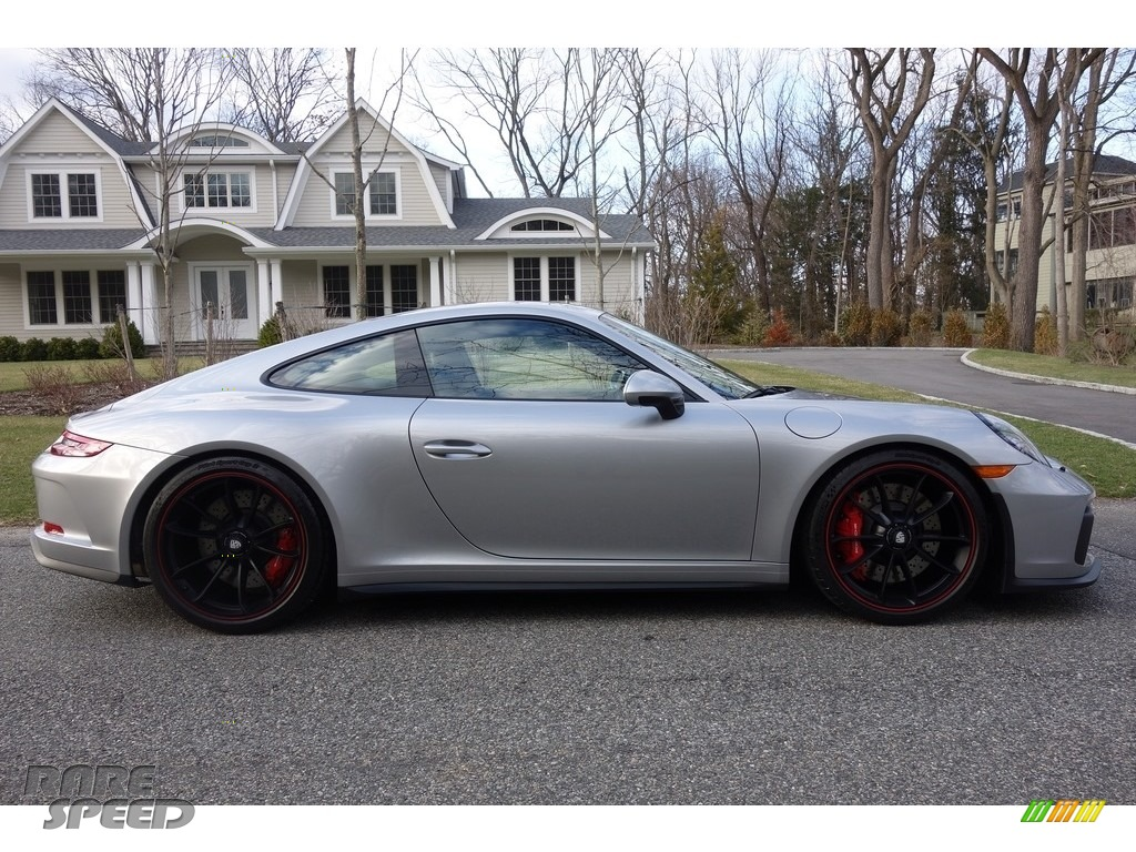 2018 911 GT3 - GT Silver Metallic / Black photo #7