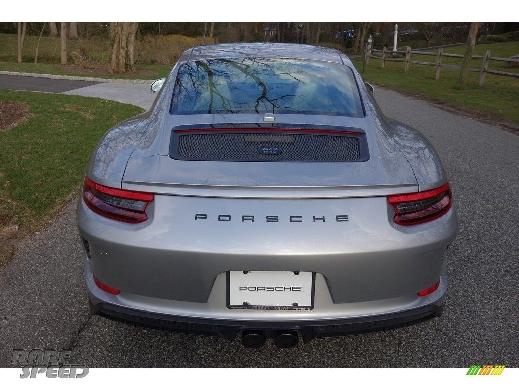 2018 911 GT3 - GT Silver Metallic / Black photo #9