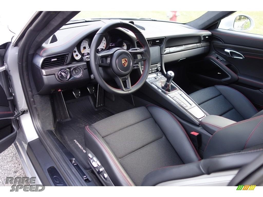 2018 911 GT3 - GT Silver Metallic / Black photo #13