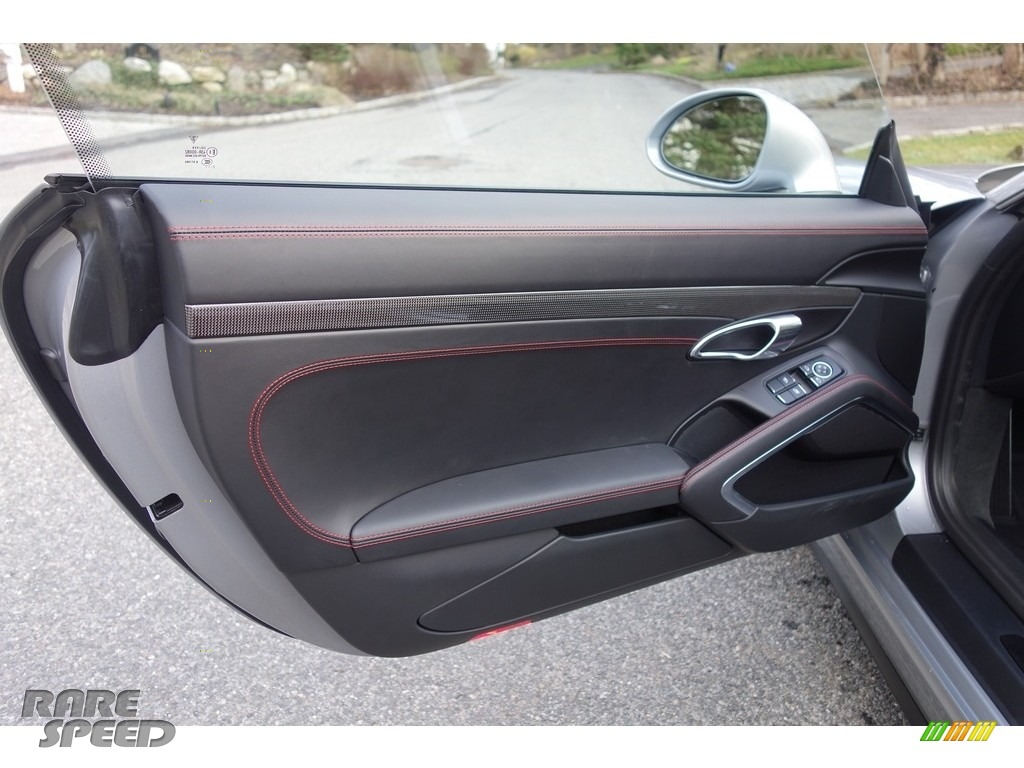 2018 911 GT3 - GT Silver Metallic / Black photo #14