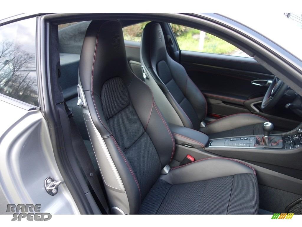 2018 911 GT3 - GT Silver Metallic / Black photo #18