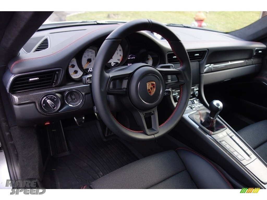 2018 911 GT3 - GT Silver Metallic / Black photo #19
