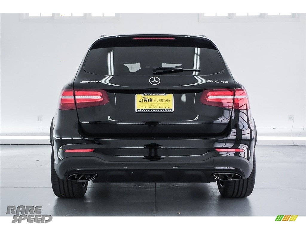 2018 GLC AMG 43 4Matic - Black / Black photo #3