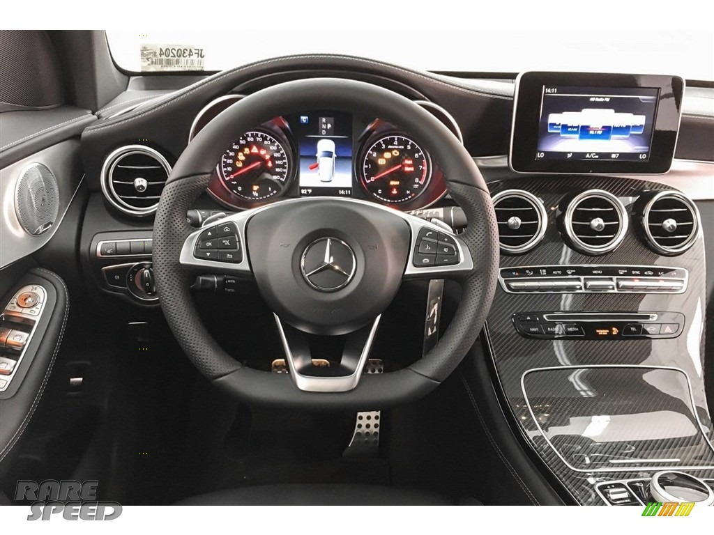 2018 GLC AMG 43 4Matic - Black / Black photo #4