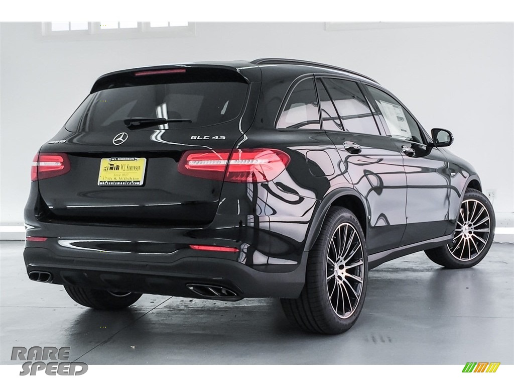 2018 GLC AMG 43 4Matic - Black / Black photo #16