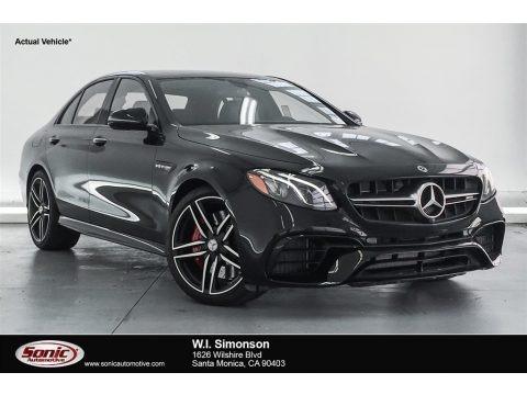 Black 2018 Mercedes-Benz E AMG 63 S 4Matic